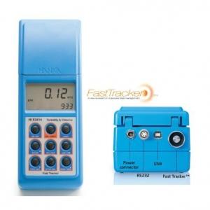 HANNA哈纳 HI93414高精度数据型浊度&余氯总氯多用途测定仪